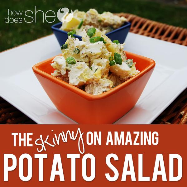 The SKINNY on Potato Salad