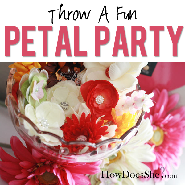 Throw A Petal Party