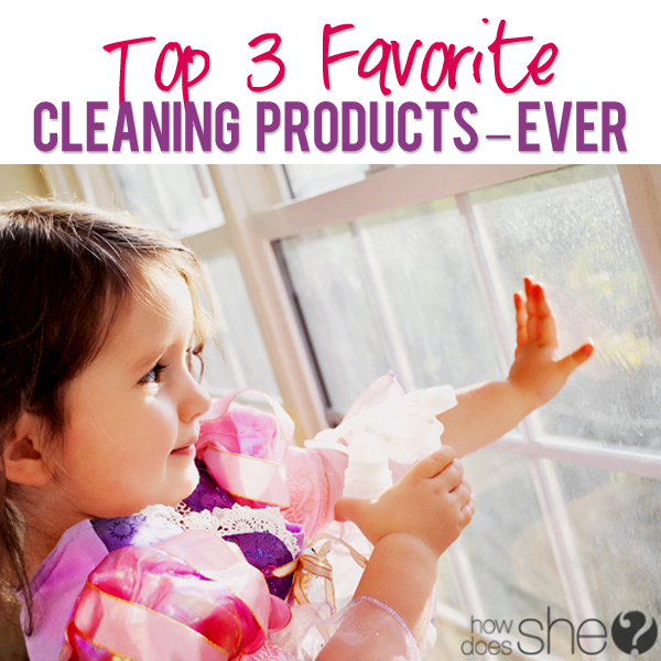 Top 3 Favorite Cleaning Products EVER