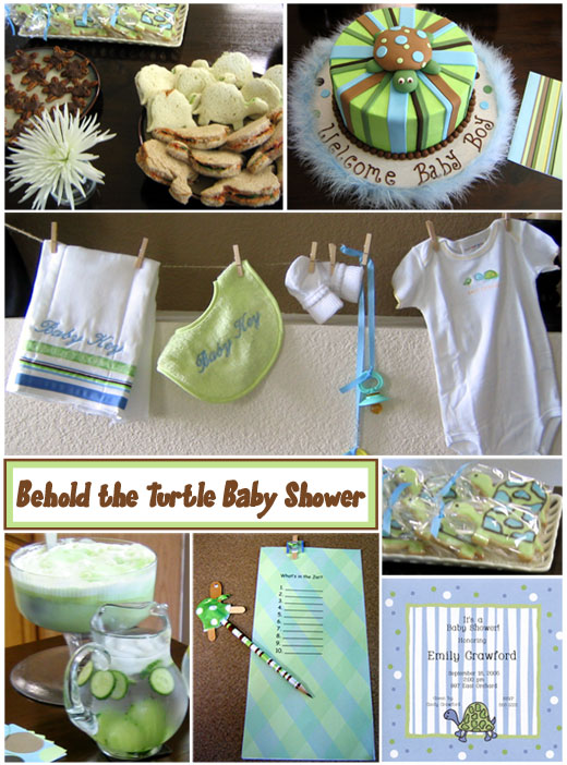 Turtle Baby Shower