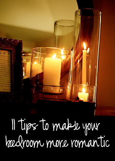 11 tips to make your bedroom a bit more romantic