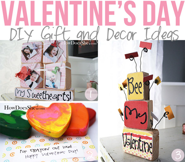Valentines Day DIY Gifts Decor