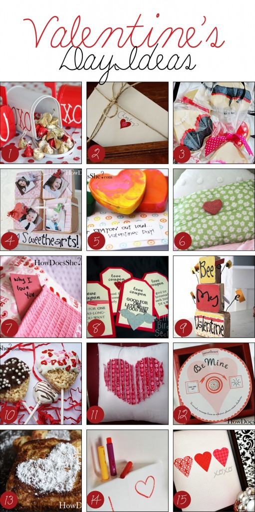 Great Valentine's Day Ideas collage