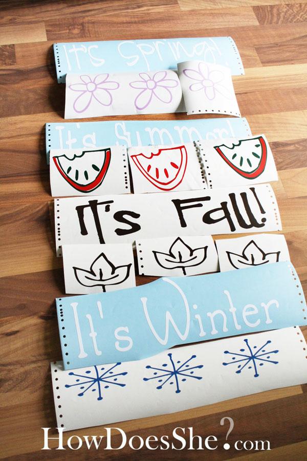 Seasonal Vinyl