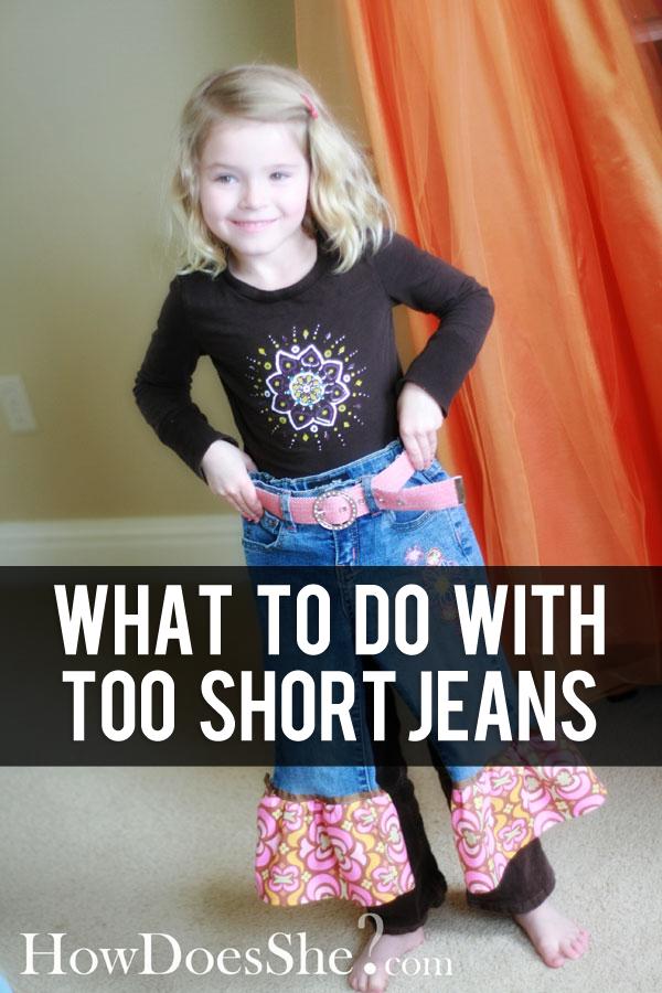 Blue Jeans makeover