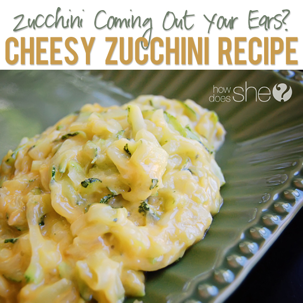 Cheesy Zucchini Recipe