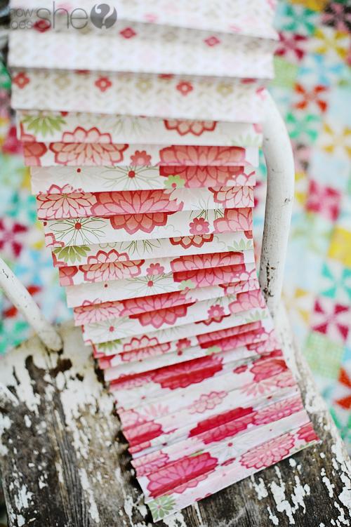 paper rosette tutorial