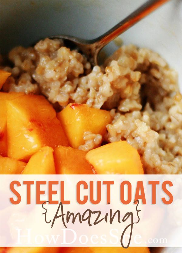 amazing steel cut oats