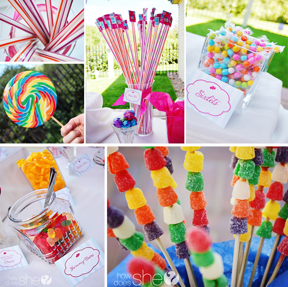 Gallery For gt Diy Candyland Party Ideas