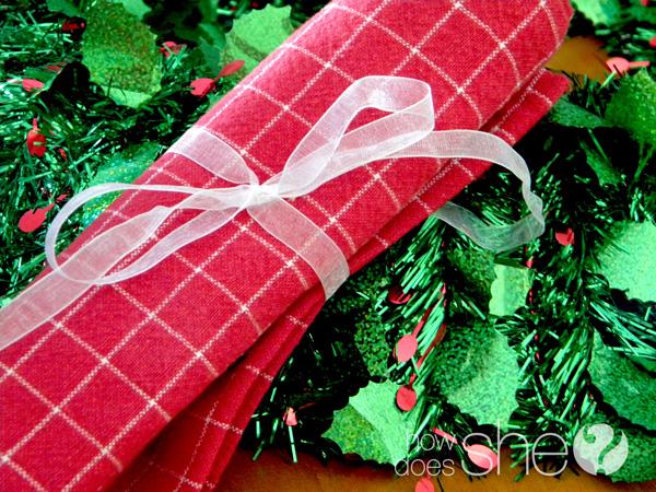 neighbor gift towel