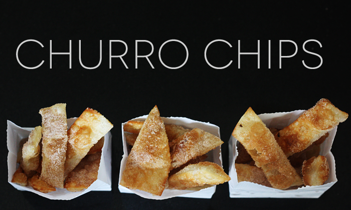 quick & easy Churro Chips
