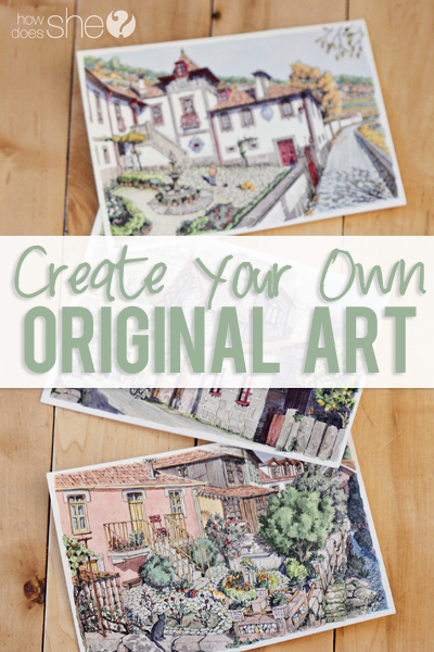 create your own original art