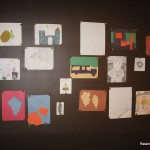 display art magnet wall