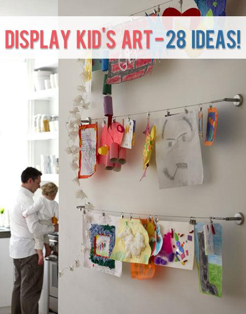 mostrar 28 ideas de arte infantil