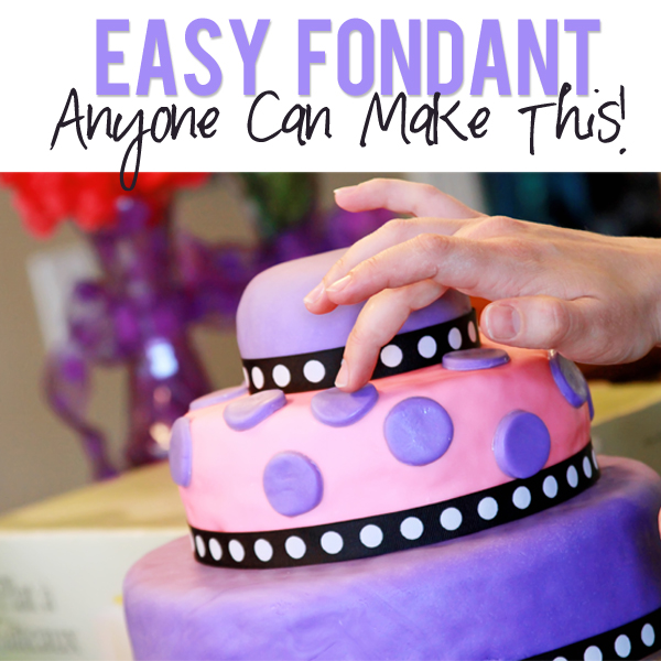 Easy Marshmallow Fondant Recipe How to make fondant yourself