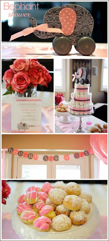 brittany egbert designed this gorgeous elephant themed shower she