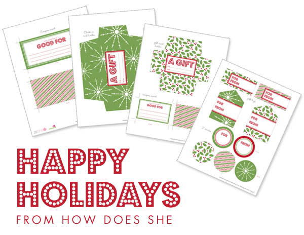 image about Free Printable Money Envelopes referred to as Totally free Xmas Reward Offering Printables How Does She