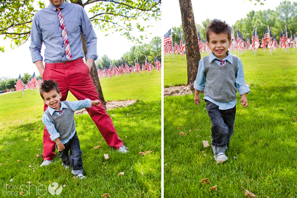 Like Father Like Son: Styling Tips from a Toddler and his Dad.