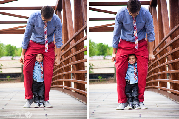 father and son styling tips