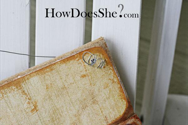 Make A wood Flag Decoration