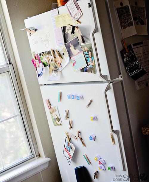 Messy Fridge: Easy DIY Fridge Makeover