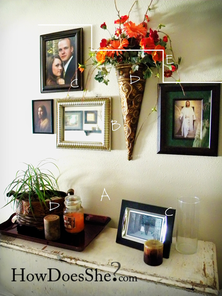 wall decor tips photo of wall arrangement