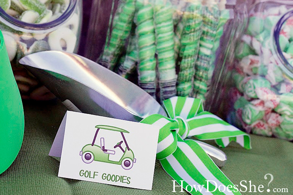 golf themed party