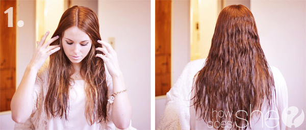 Gorgeous beach curls in under 20 minutes