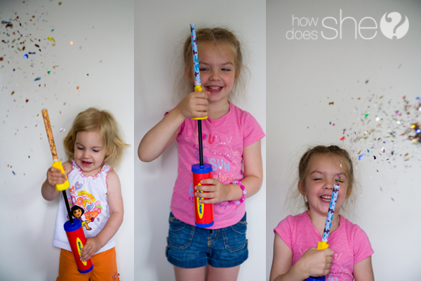 How To Make Confetti Firecrackers