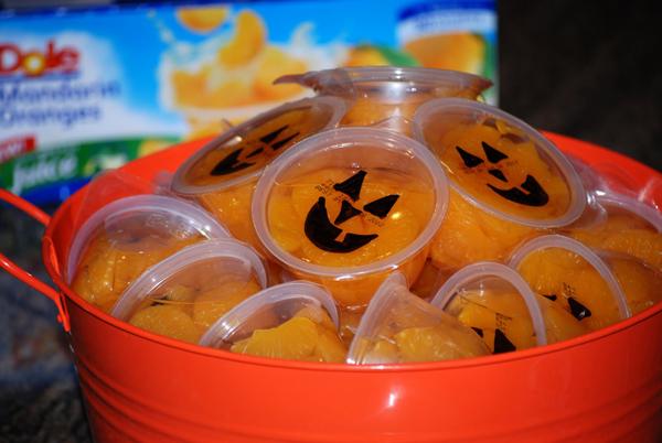 healthy halloween treat idea - Healthy Fun Halloween Snacks
