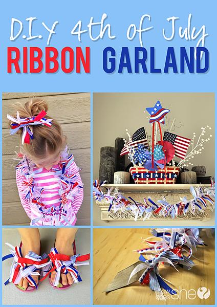 july fourth ribbon garland copy