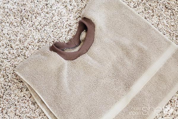 The Bib of All Bibs Towel Bib Tutorial
