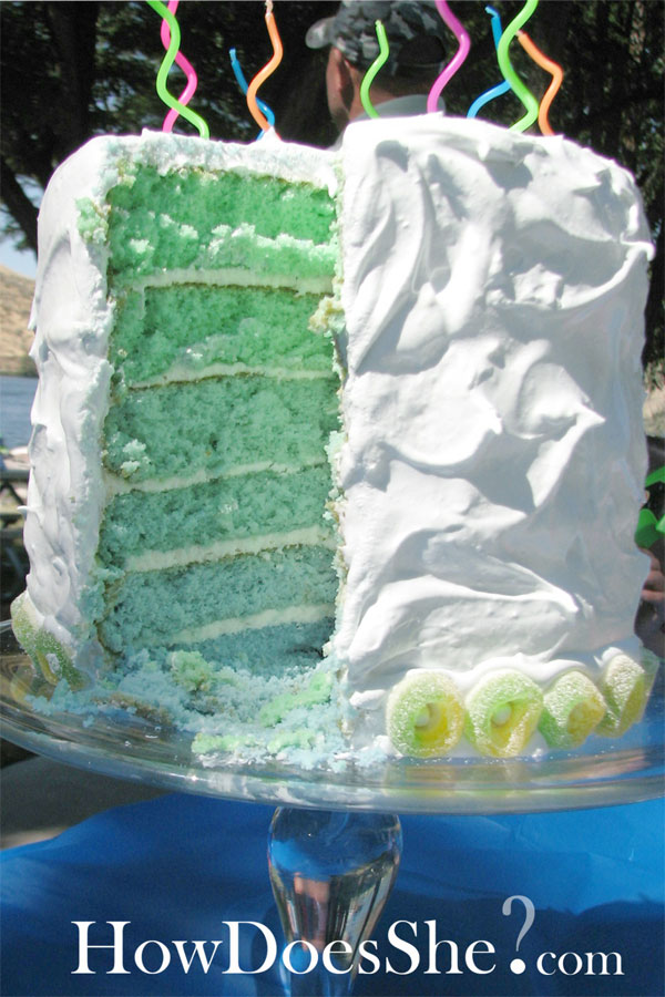 Learn How To Make A Six Layer Cake