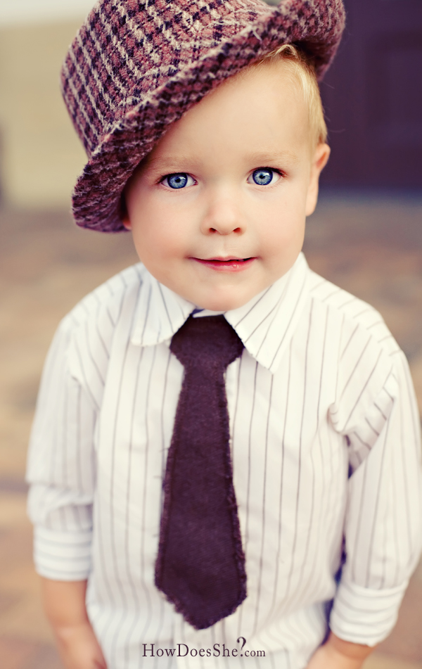 little guy tie 2