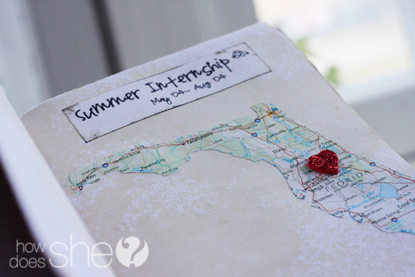 Map of Love Memory Journal