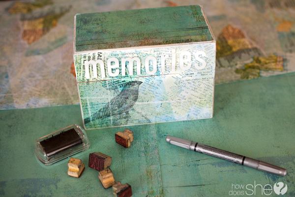 How to make a Memory Box