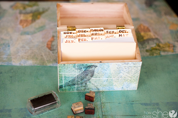 How to make a Memory Box