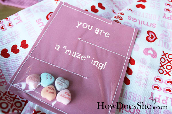 crafty valentine card