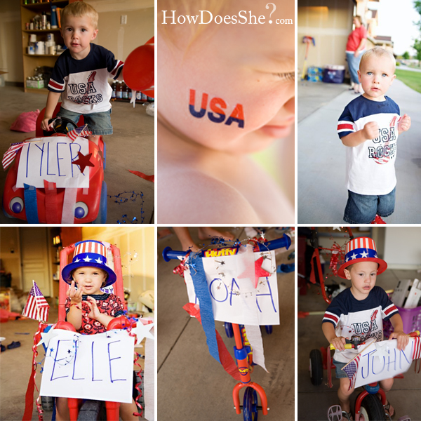 Hold your own 4th of July Parade!