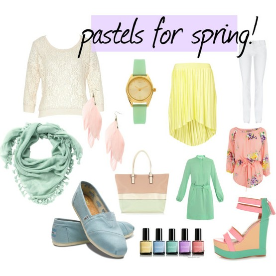 Pastels For the Spring