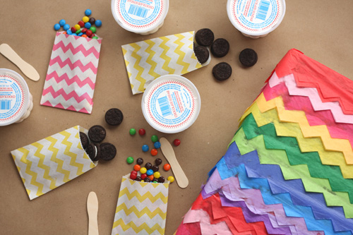 Sweet Centerpiece and FREE Printables