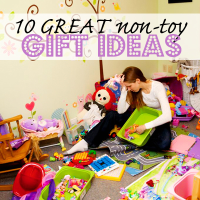 10 GREAT non-toy gift ideas for kids! www.howdoesshe.com