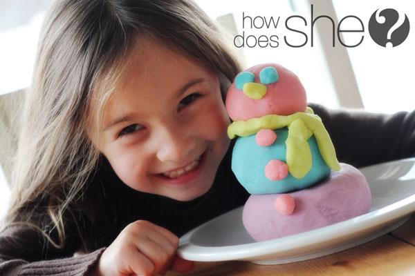 home made play dough