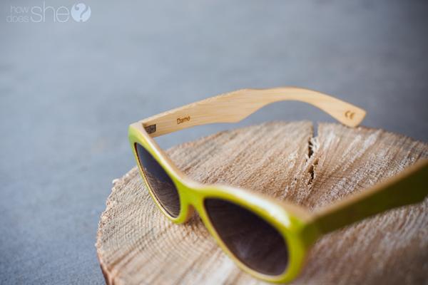 Go Green in Fashion sunglasses