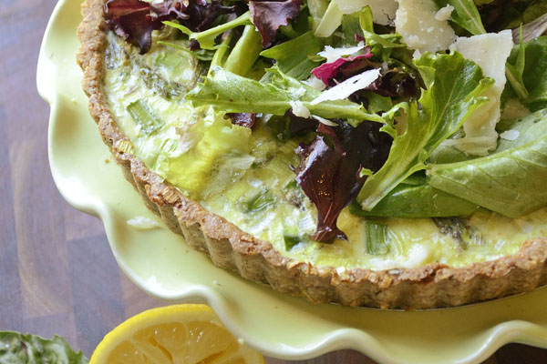 Spring Quiche With Leeks And Sorrel Recipes — Dishmaps