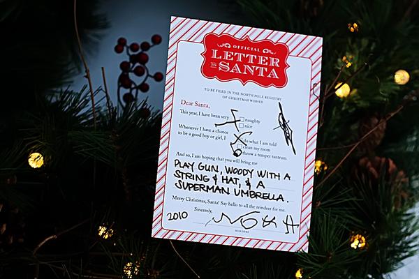 Official Letter to Santa Kit