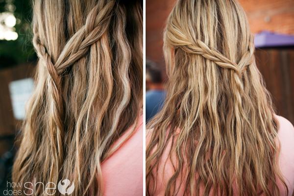beach wavy hairv