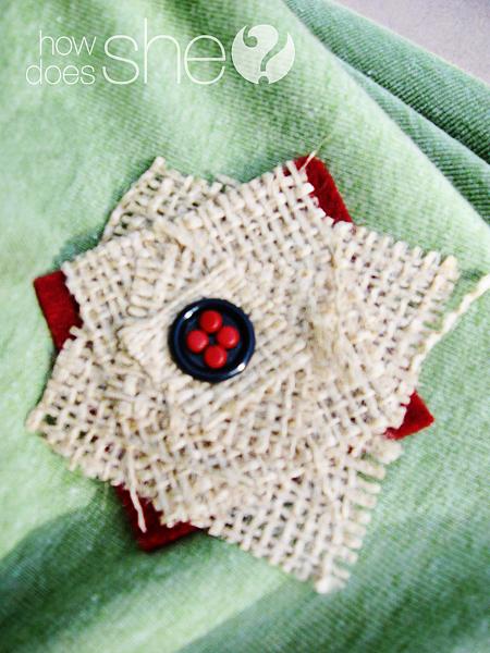 ric rac arpillera y accesorios de fieltro