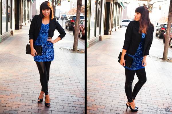 How to wear sequin.