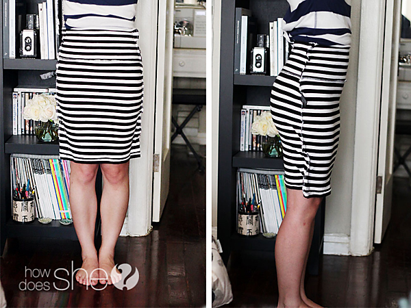 Mini-Skirt to Modest Skirt